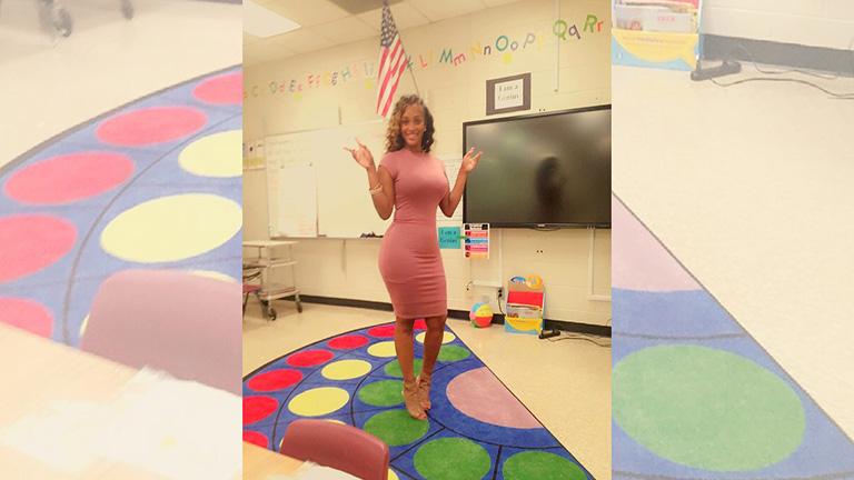 Ezen vitázik a net: szerinted ez megfelelő öltözék egy tanárnőnek?