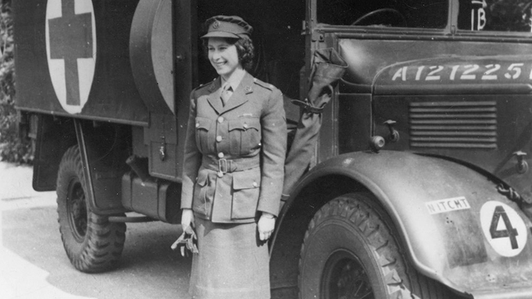 II. Erzsébet 1945-ben