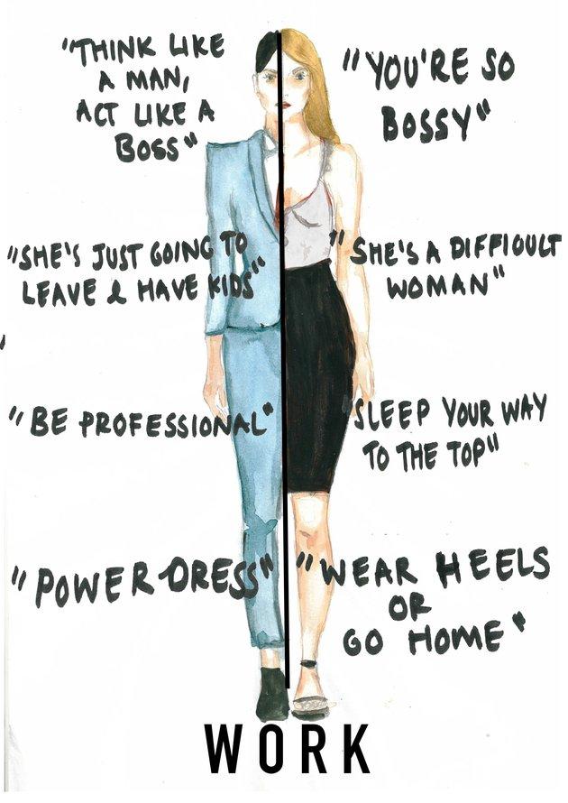 Zseniális illusztrációk foglalják össze mindazt, amit a nőknek el kell viselniük