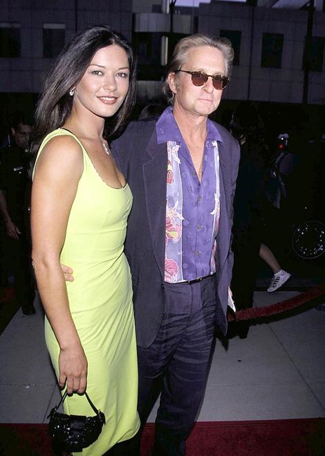Catherine-Zeta Jones és Michael Douglas