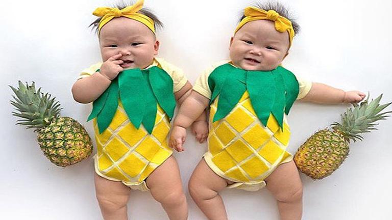 Elviselhetetlenül cuki halloweeni jelmezek kisbabáknak - fotók