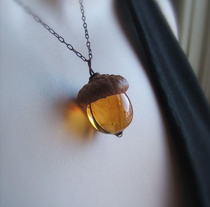 Íme a tökéletes őszi kiegészítő: imádni való makkos ékszerek