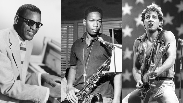 Ray Charles, John Coltrane és Bruce Springsteen