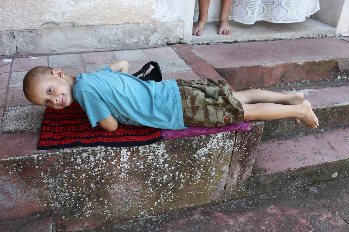 Nehéz Kristófnál mozgékonyabb, cserfesebb hétévest találni (Fotó: Hernád Géza)