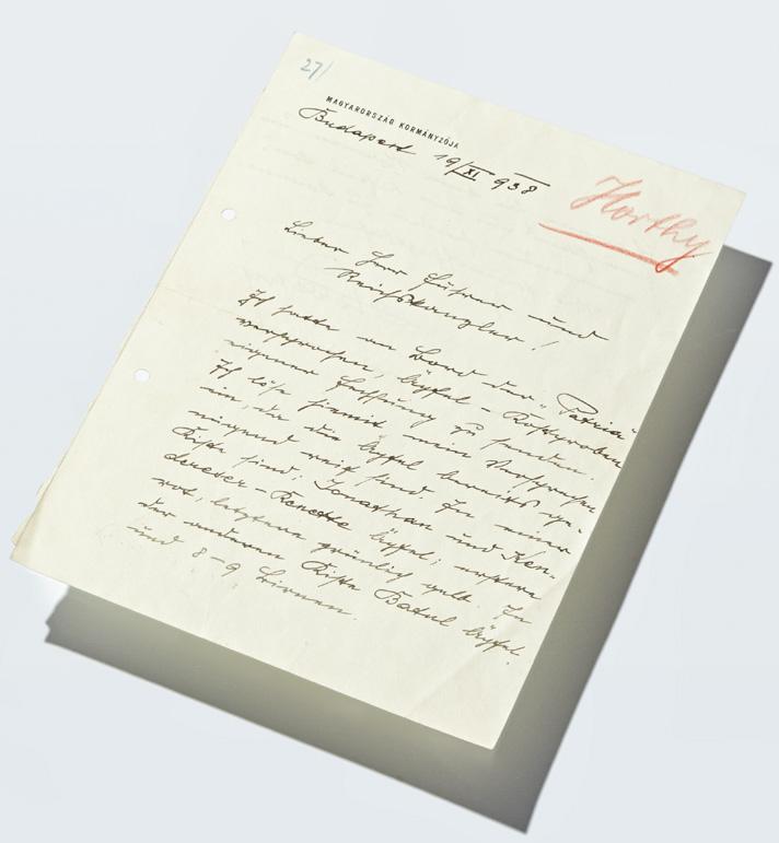 Horthy levele Hitlernek és egy különleges kotta története - könyvritkaságok kiállítása Budapesten