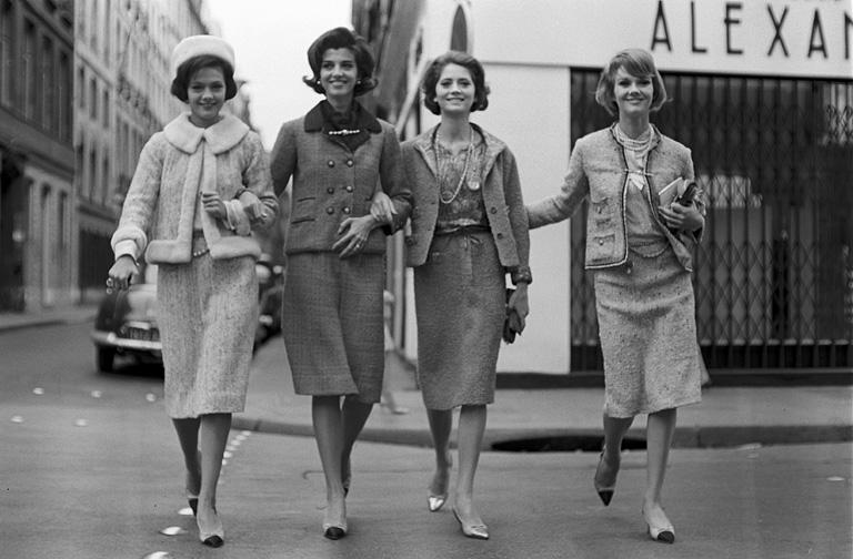 Párizsi divat - Chanel ruhák, 1960