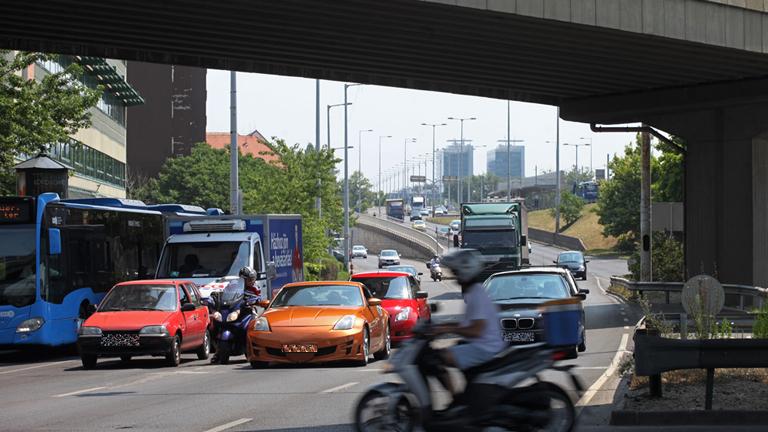 Lényegesen komolyabb forgalomra kell számítani ezen az útvonalon (Fotó: Leéb Ádám)