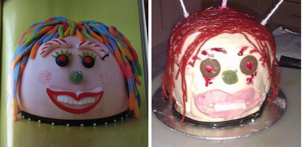 10 reménytelenül elrontott torta, amin csak nevetni lehet