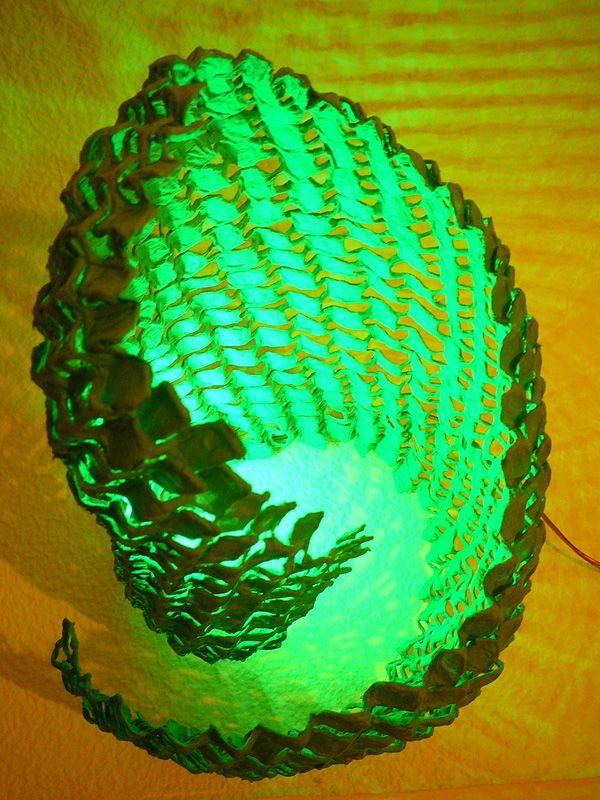 Asztali struktúra lámpa