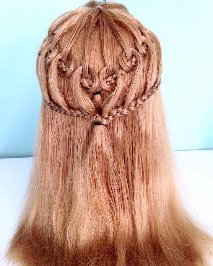 Menő frizurák: hajfonat, ahogy még nem láttad