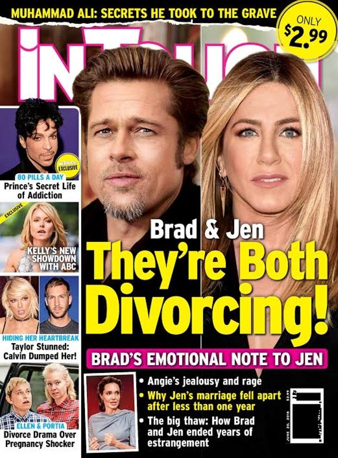 Jennifer Aniston válik, de nem Brad Pitt miatt az In Touch szerint