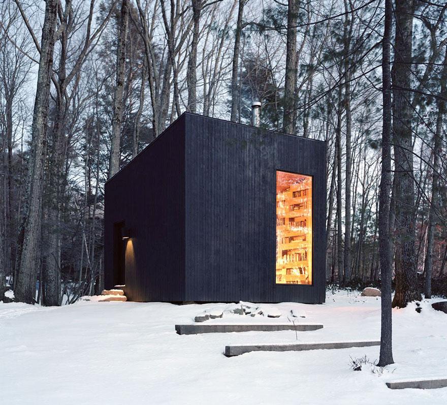 Ez a titkos könyvtár az erdő közepén minden könyvmoly álma