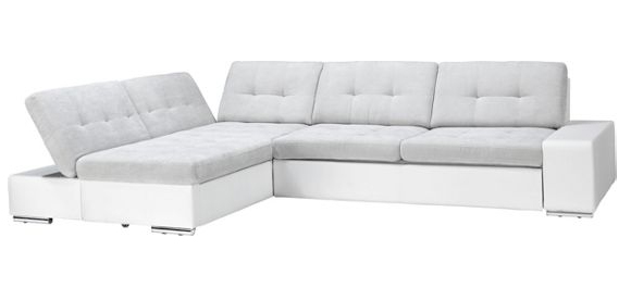 Fehér, variálható kanapé, Möbelix 349.900 forint Ez a kanapé tényleg luxus darab, nemcsak mérete és variálhatósága, hanem az ára miatt is.