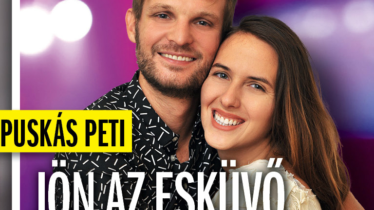 Puskás Peti feleségül veszi Eke Angélát