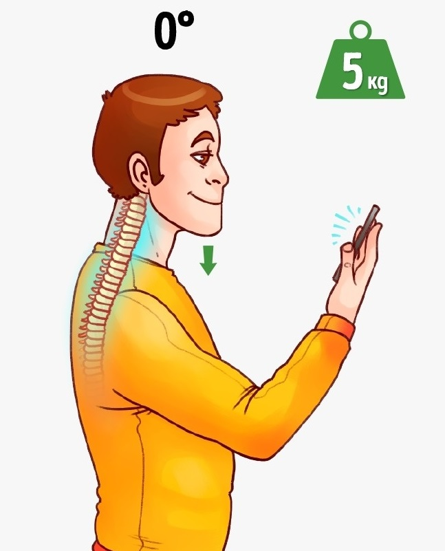 Így használd az okostelefonod, hogy ne nyírd ki közben a gerinced