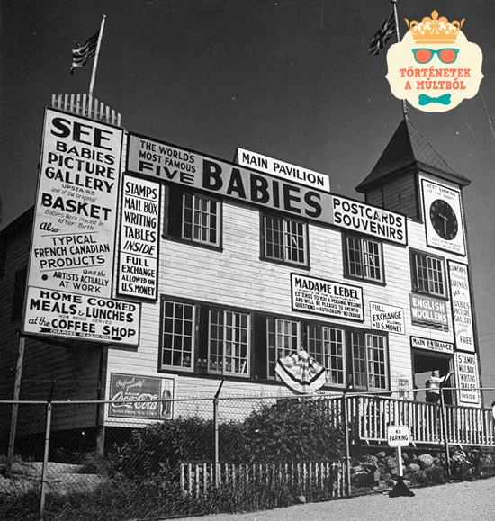 A Dionne ötös ikrek szomorú története: baba koruktól egy üvegkalitkába zárva éltek