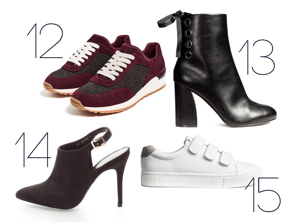 15 divatos, őszi cipő 10 ezer forint alatt