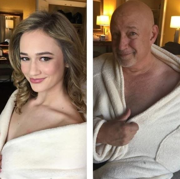 Újraalkotta lánya modellfotóit a zseniális apuka