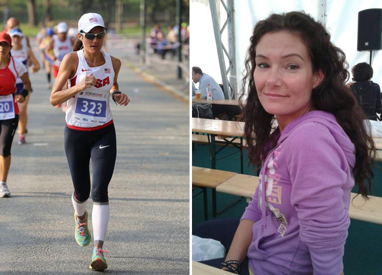 Nagy Katalin egy korábbi futóversenyen