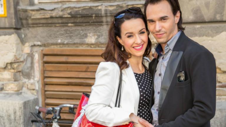 Kerényi Miklós Máté felesége babát vár