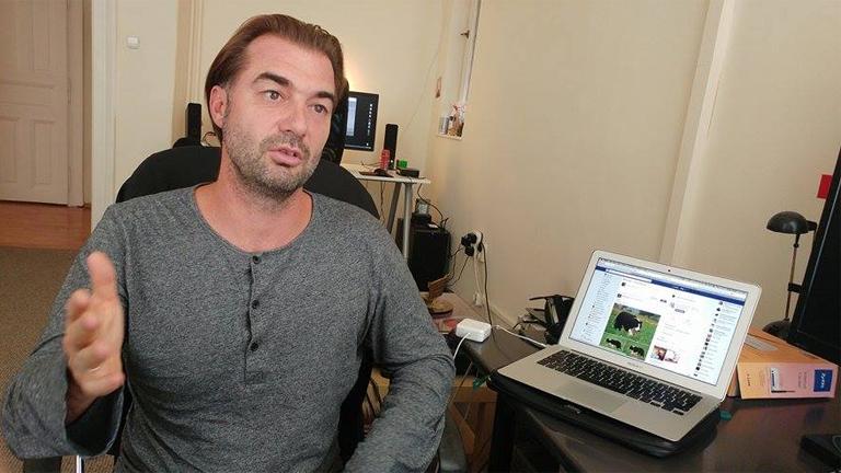 Dávid István, az Interconnectedness producere (Fotó: Andersen Dávid)