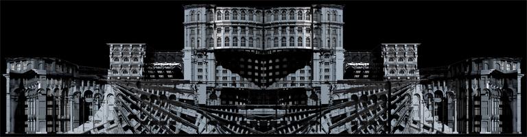 A Limelight ars poeticája, hogy az épületek homlokzatát felhasználják az animációkhoz (Kép: Limelight Projection Mapping)
