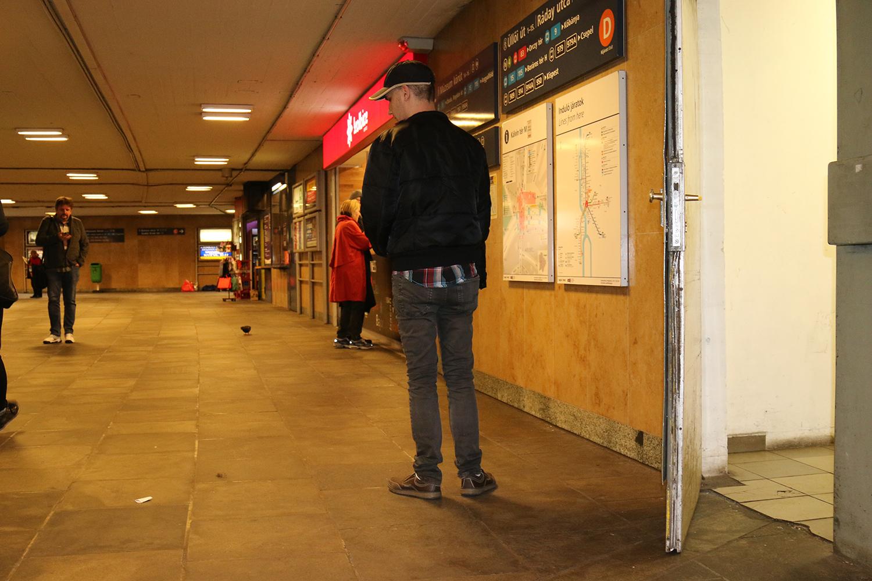 A vak ember számára Budapest egy elkeserítő akadálypálya