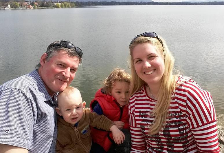 Laci, Kriszti és a gyerekek