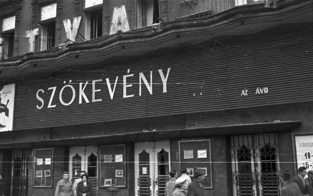 Bástya mozi 1956-ban.  (fotó: Fortepan)