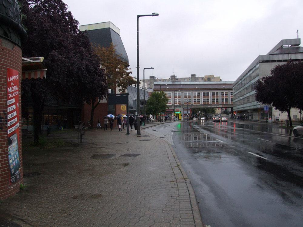 A támadás helyszíne - Fotó: Police.hu