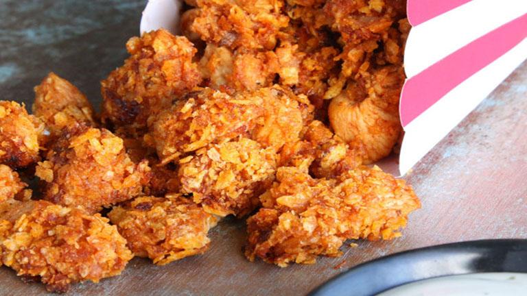 3 összetevős barbecue csirkefalatkák, amikkel nem lehet leállni