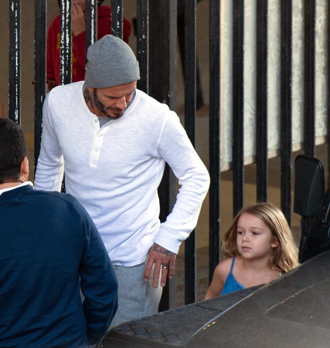 Pufinak tartják a 5 éves Harper Beckhamet és diétáztatnák
