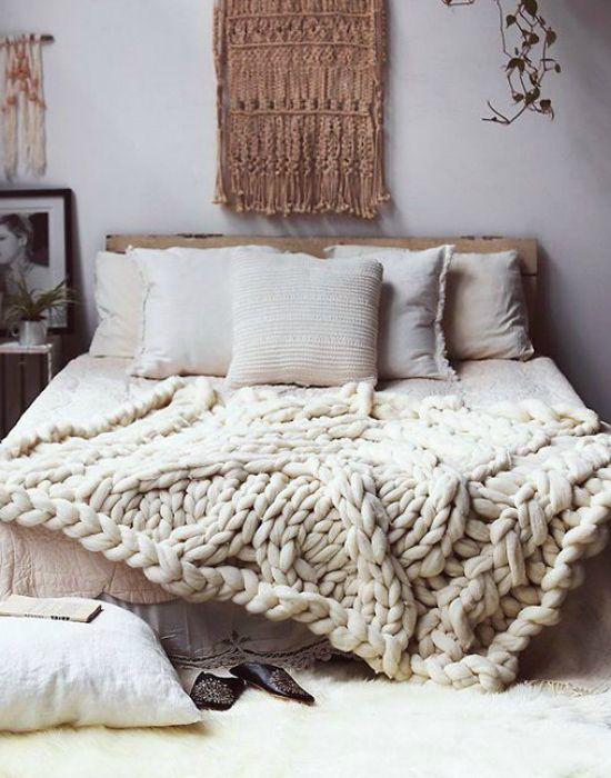 Készülj a hidegre lelkiekben is. Egy kötött pléd feldobja az ágyad!