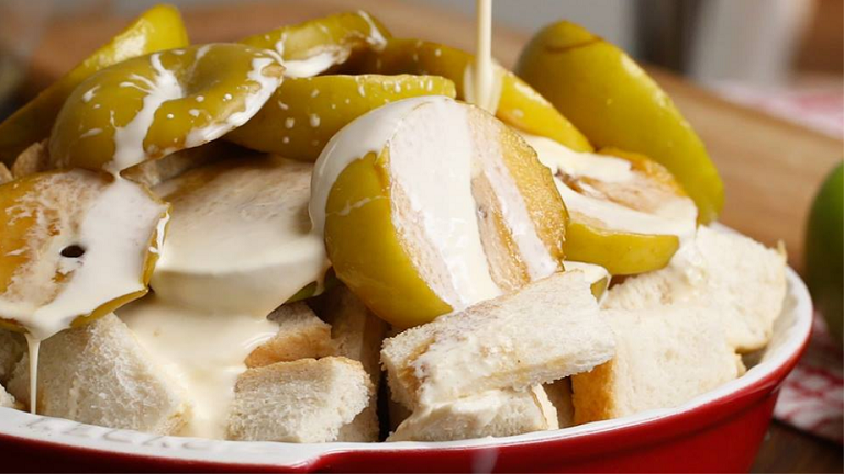 Ez az őszi édességet ne hagyd ki: almás kenyérpuding