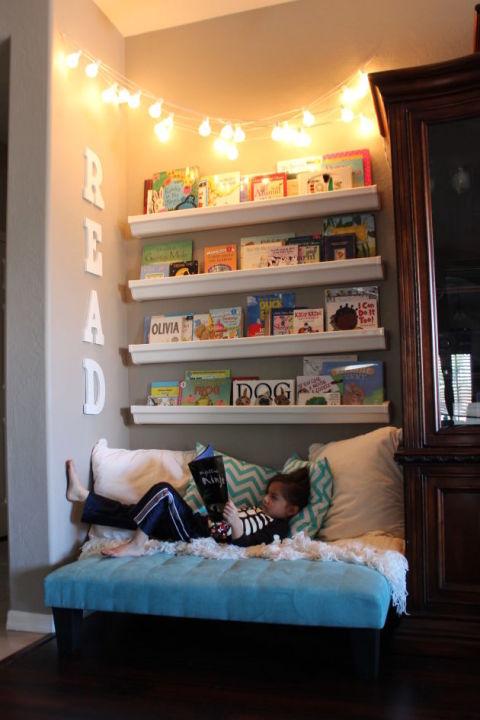 10 kényelmes olvasósarok, ahová szívesen bekuckóznánk