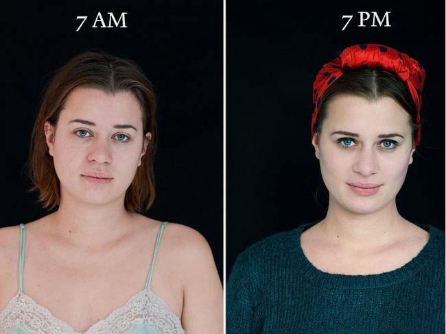 Ennyit tud változni egy nő egy nap alatt - fotók