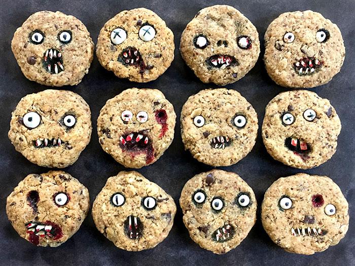 Szinte túl ijesztőek ezek a halloweeni sütik, hogy megedd őket