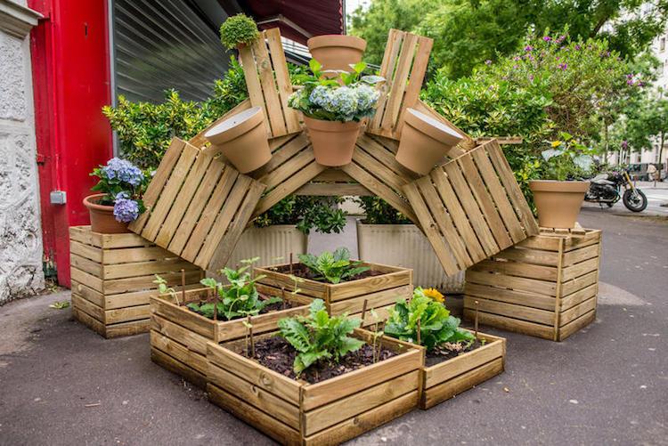Egész Párizst ellepték a közösségi kertek