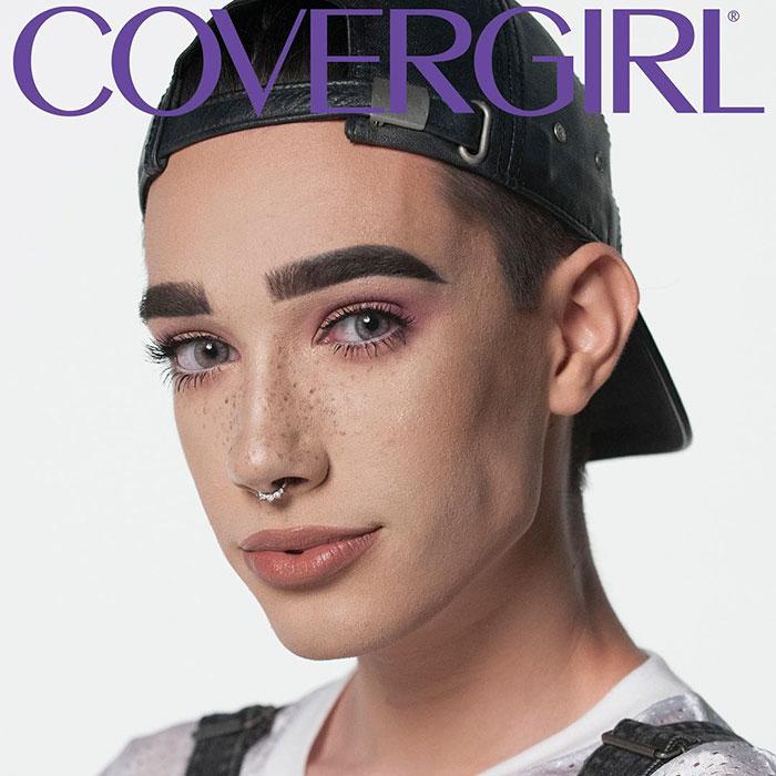 17 éves fiú lett a Covergirl sminkmárka első férfi modellje