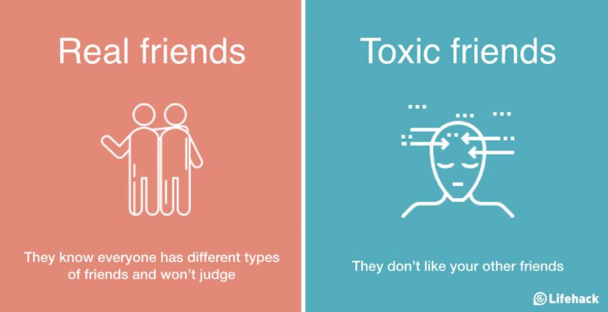 Így veheted észre a különbséget a valódi és a mérgező barátok között