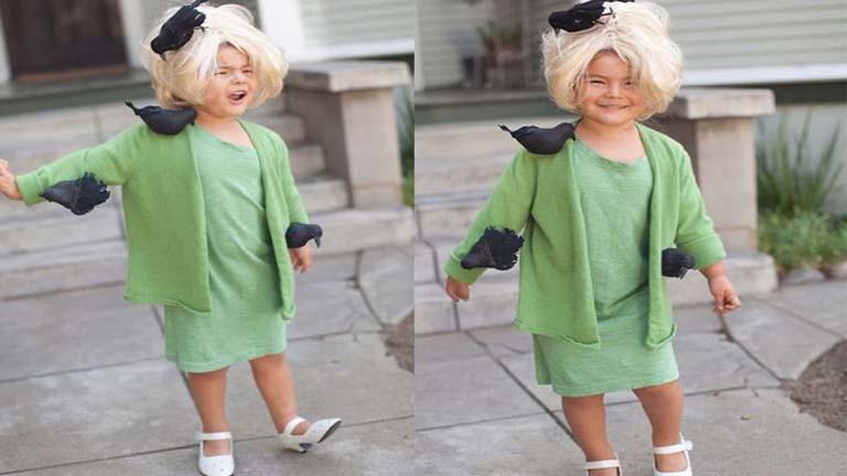 Ennek a négyévesnek van a legmenőbb halloweeni jelmeze, és kész