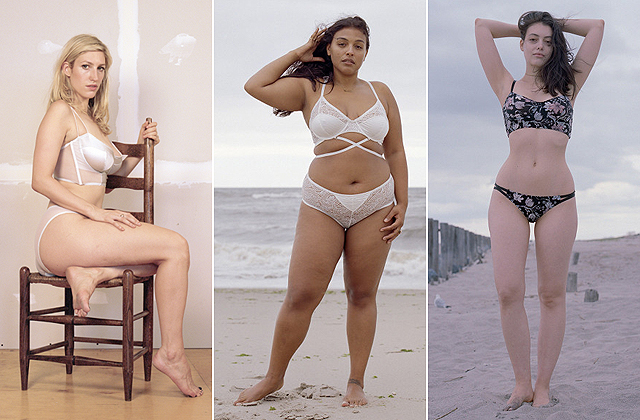Így néznek ki retus nélkül a fehérneműmodellek - fotók