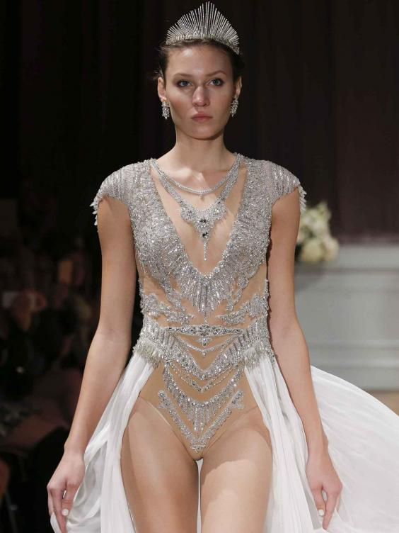 Ezeket az esküvői ruhákat csak a legmerészebb menyasszonyoknak ajánljuk