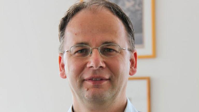 Dr. Vellai Tibor, a kutatás vezetője (Fotó: Dr. Vellai Tibor)