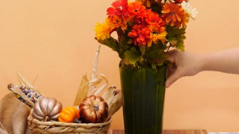 DIY: a legolcsóbb, legegyszerűbb vázát is feldobja ez a trükk