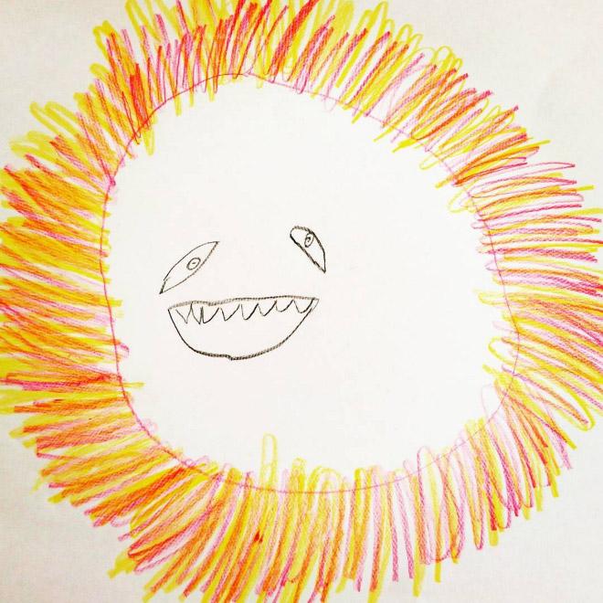 Valósággá varázsolja 6 éves kisfia rajzait az apuka - vicces fotók