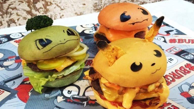 Imádni fogod ezeket a cuki Pokémonos burgereket!