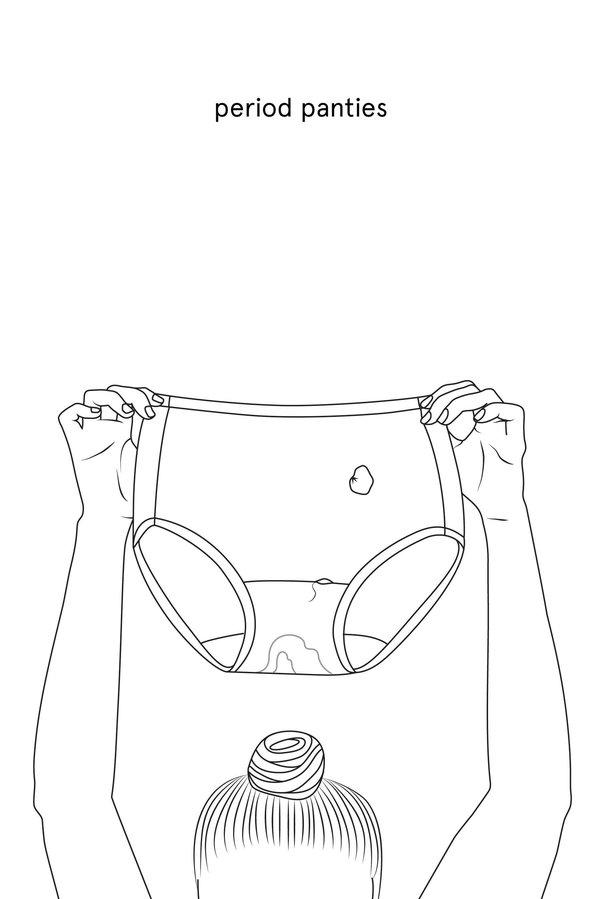 Végre itt a menstruációs színező!