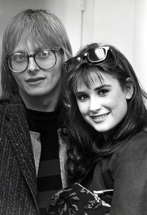 Freddy és Demi Moore (Fotó: Ron Galella/Getty Images)