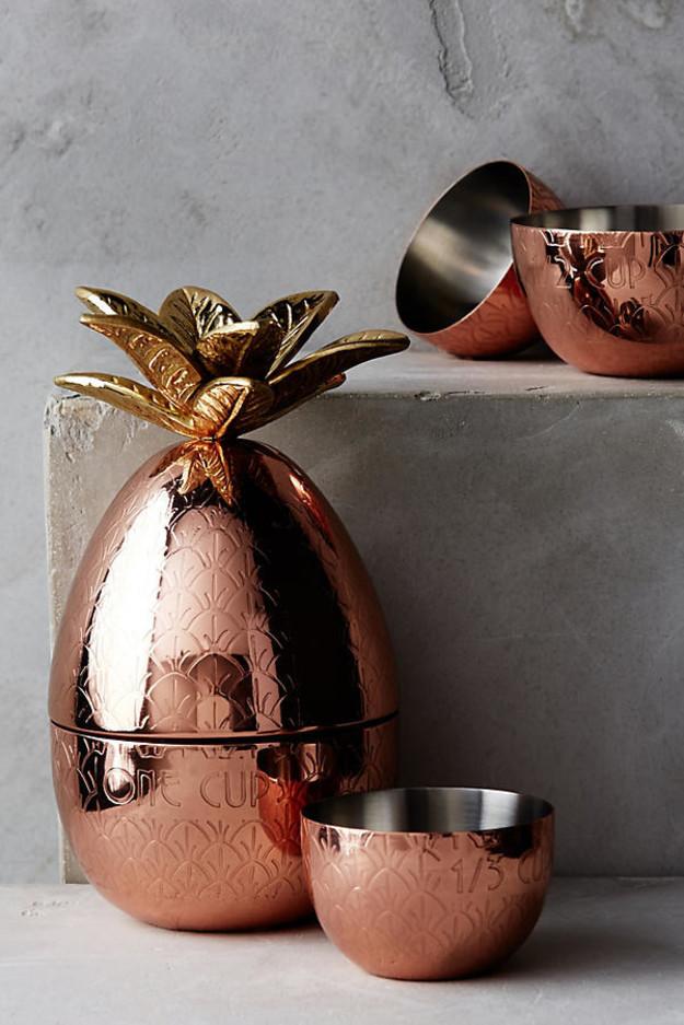 10 gyönyörű, rézszínben pompázó konyhai kiegészítő